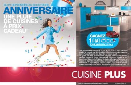 franchise cuisine plus en septembre c est l anniversaire de cuisine plus choisir sa franchise. Black Bedroom Furniture Sets. Home Design Ideas